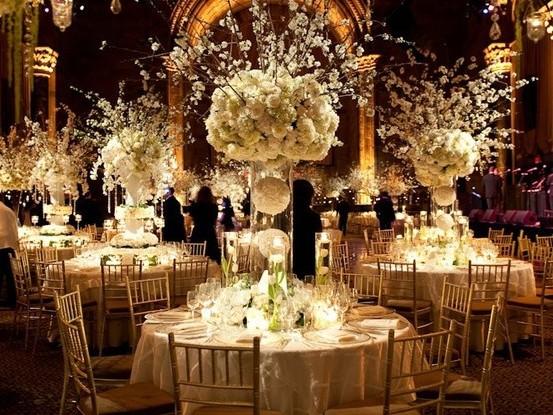 Tall Wedding Centrepieces