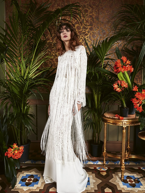 Yolan Cris – Fringe Wedding Dresses