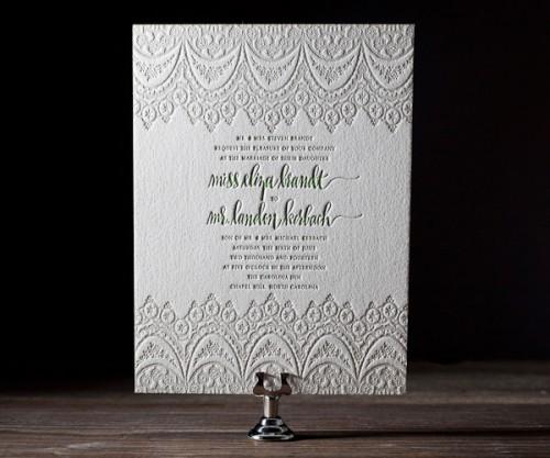 Some Fabulous Wedding Stationery