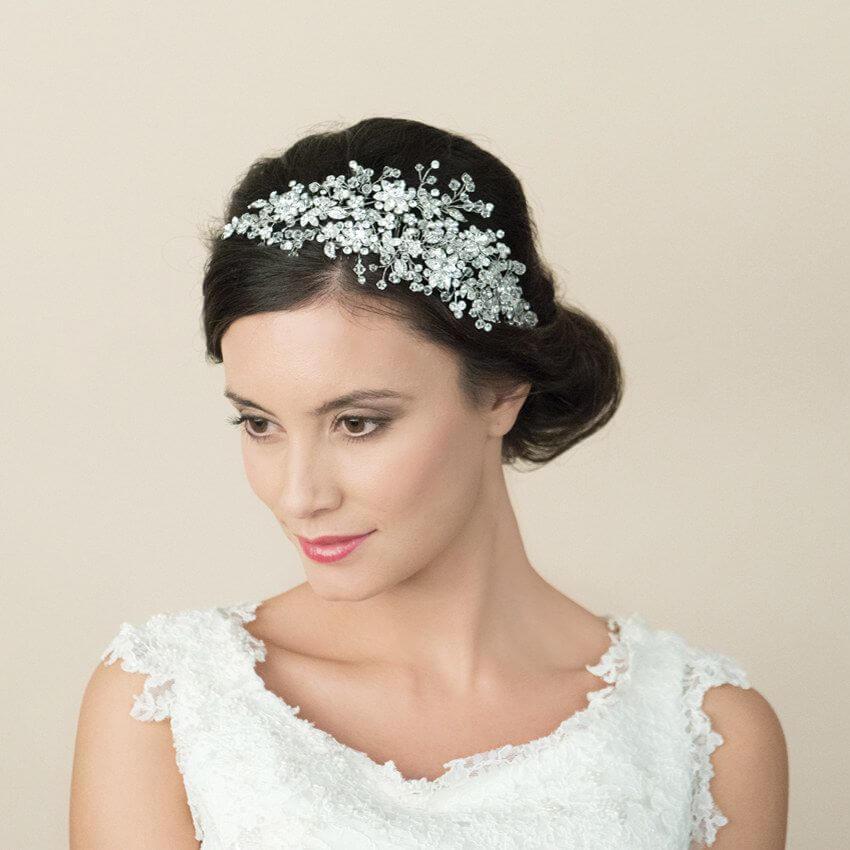 Bliss crystal headpiece