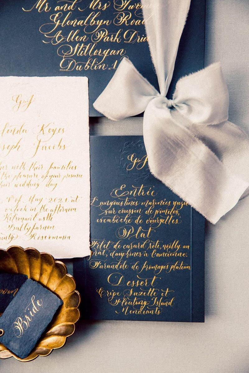 Eleganza, Fine art wedding invitations