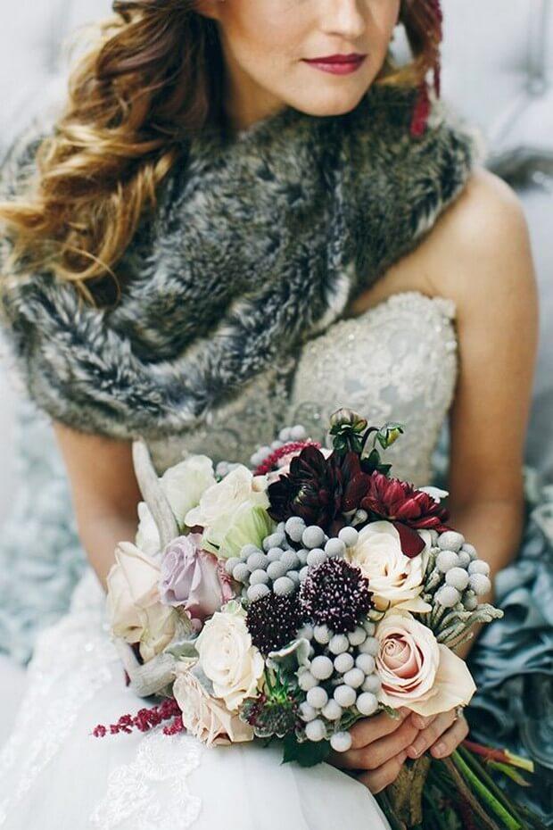 Exquisite bridal bouquet