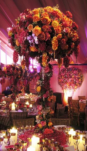 tall-elaborate-rose-centrepieces