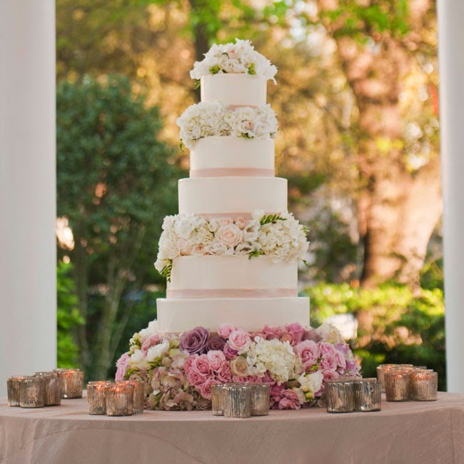 wedding cake with blush pink flowers blush pale amp soft pink wedding ideas 26831
