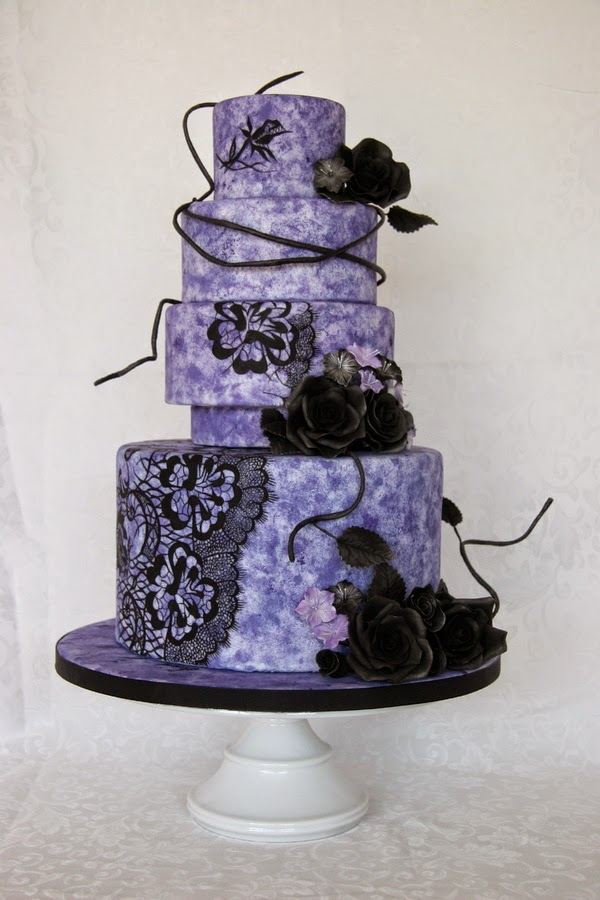 purple and silver wedding cake designs purple wedding ideas themes amp colour schemes 18873