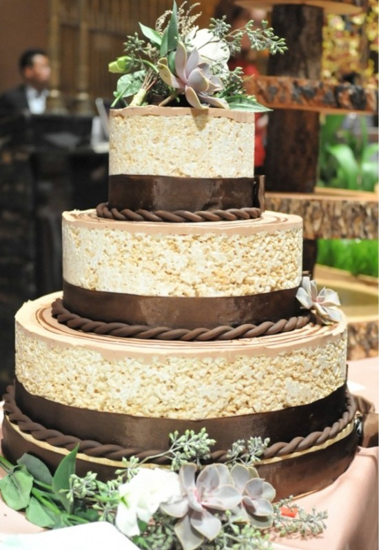 rice krispie wedding cakes amp alternative wedding cake ideas 19223