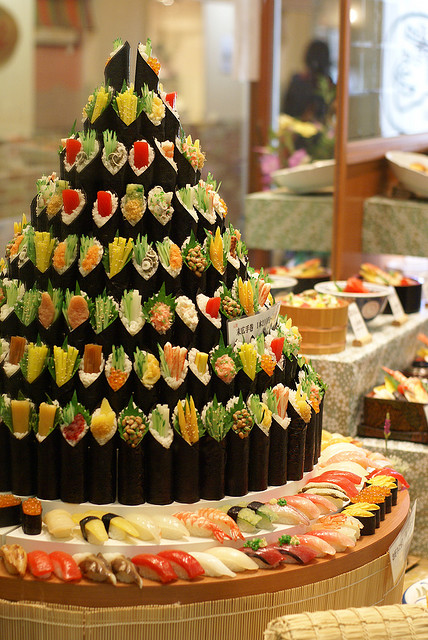 sushi wedding cake uk amp alternative wedding cake ideas 20663