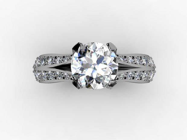 diamond geezer ring